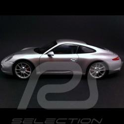 Porsche 991 Carrera S argent 1/18 Welly 18047W