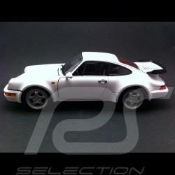 Porsche 964 Turbo 1992 blanche 1/18 Welly 18026