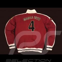 Jacke Clay Regazzoni rote Weste Herren