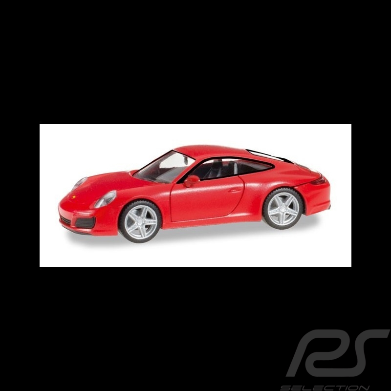Porsche 911 Carrera 4S rot 1/87 Herpa 028646