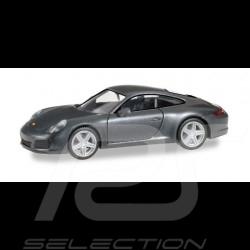 Porsche 911 Carrera 4 gris 1/87 Herpa 038645