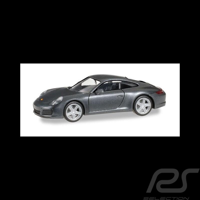 Porsche 911 Carrera 4 grey 1/87 Herpa 038645