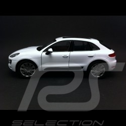 Porsche Macan Turbo 2015 blanc 1/24 Welly 24047