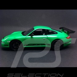 Porsche 997 GT3 RS verte / noire 1/24 Welly 22495
