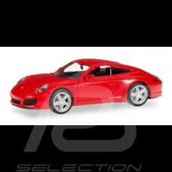 Porsche 911 Carrera 2 Coupé red 1/87 Herpa 028523