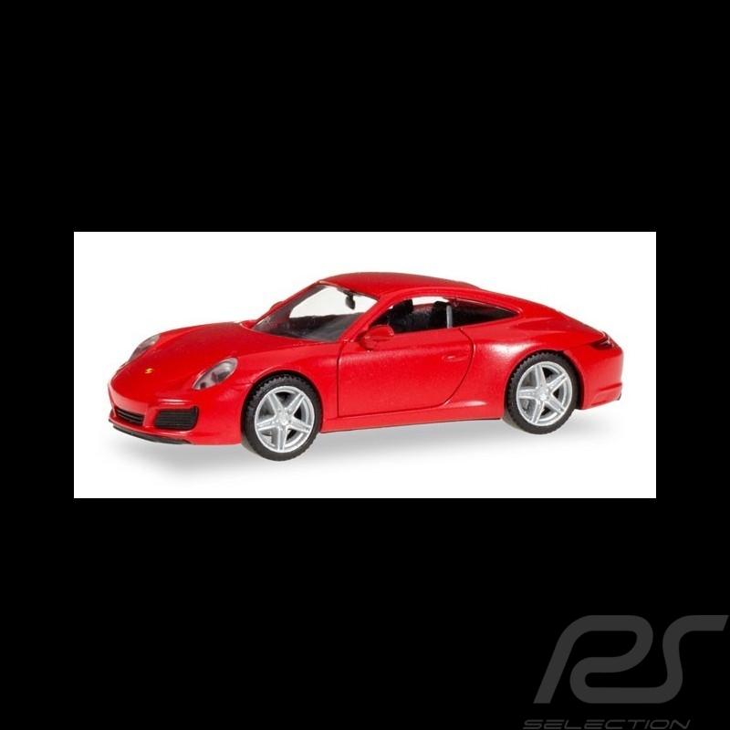 Porsche 911 Carrera 2 Coupé rot 1/87 Herpa 028523