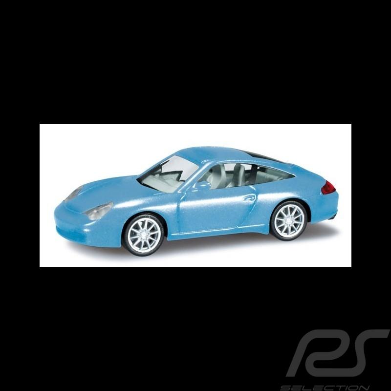 Porsche 911 Targa bleu glacier 1/87 Herpa 033039-002