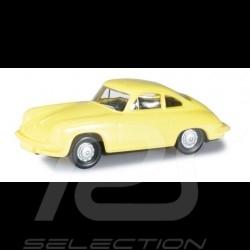 Porsche 356 Coupé sulfur yellow 1/87 Herpa 024709-003