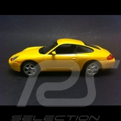 Porsche 996 Carrera Coupe 1998 jaune 1/43 Minichamps 400061182