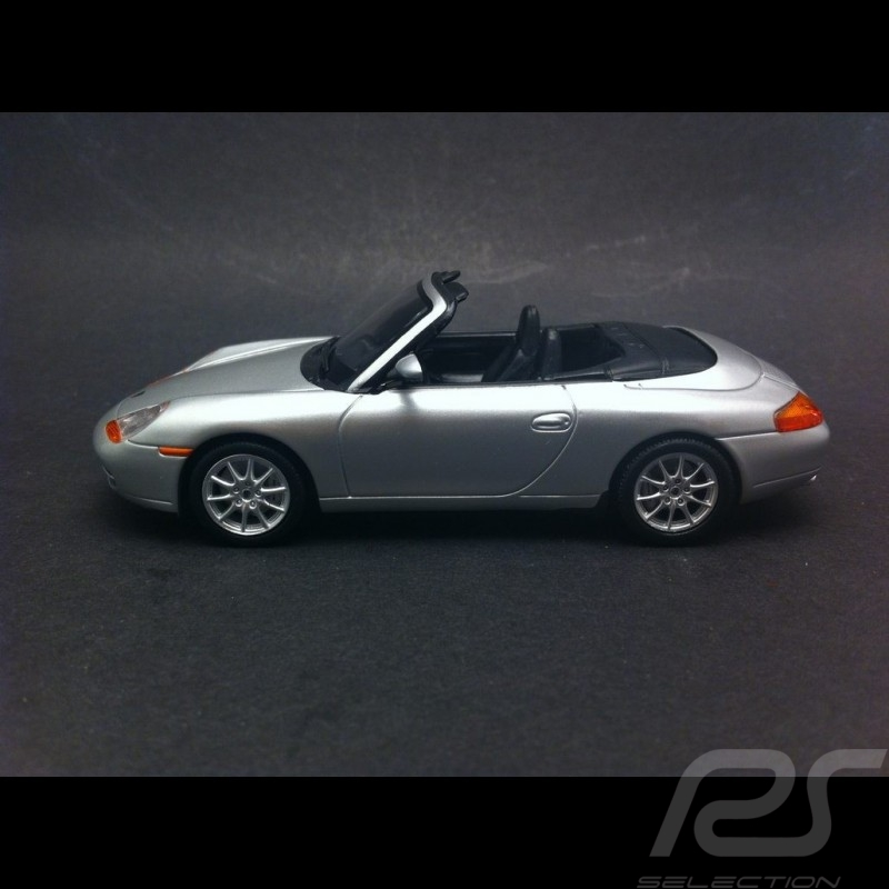 Porsche 996 Carrera Cabriolet 1998 Silber grey 1/43 Minichamps 400061091