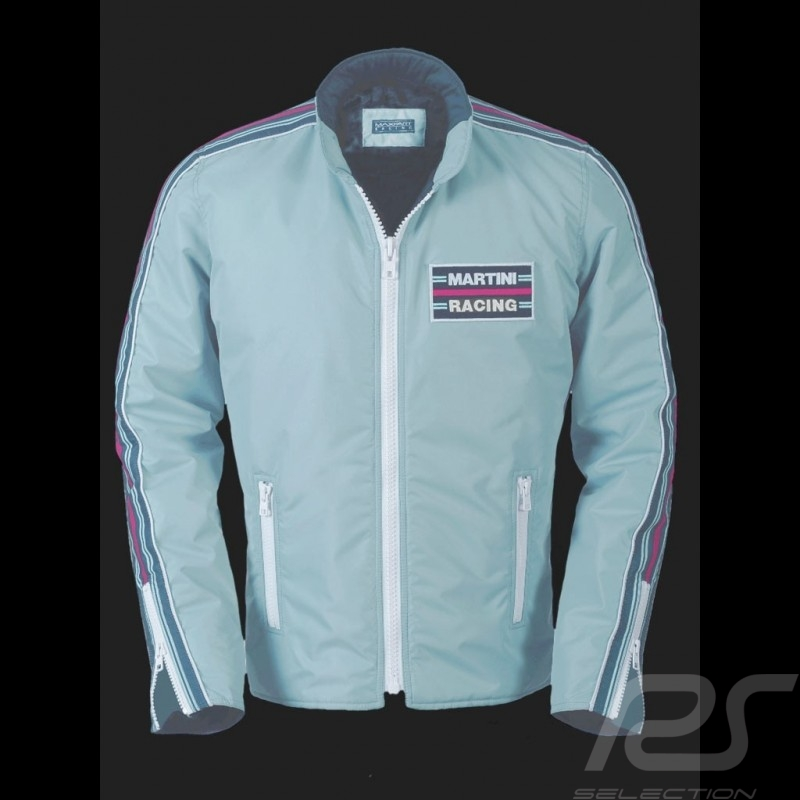 Veste Martini Racing Team 1975 bleu clair pour homme Jacket men Jacke herren
