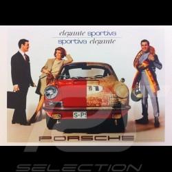 Porsche Poster 911 elegante sportiva 1967