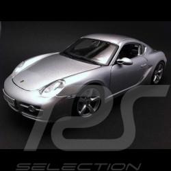 Porsche Cayman S 987 argent 1/18 Maisto 31122