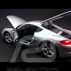 Porsche Cayman S 987 silber 1/18 Maisto 31122
