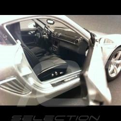 Porsche Cayman S 987 silver 1/18 Maisto 31122