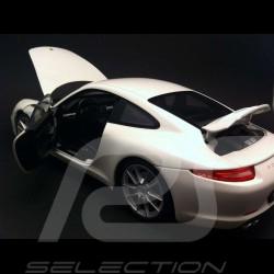 Porsche 991 Carrera S white 1/18 Welly 18047