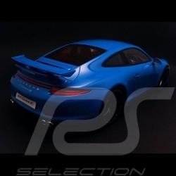 Porsche 991 Carrera 4S Aerokit Cup blau 1/18 GT Spirit GT085