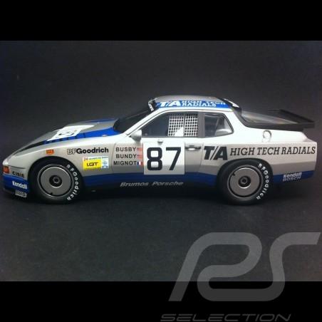 Porsche 924 Carrera GTR Le Mans 1982 n° 87 1/18 TrueScale TSM141824R