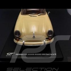Porsche 356 B Carrera 2 elfenbein 1/18 GT Spirit GT010ZM