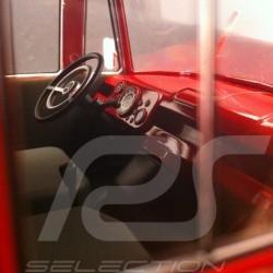 Mercedes-Benz L319 Camion Transporteur Porsche 1960 rouge 1/18 Norev 183416