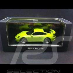 Porsche 991 GT3 2016 lichtgrün 1/43 Minichamps CA04316016