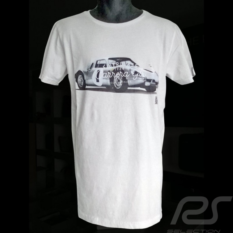 T-shirt Porsche 904 Carrera 1964  white for Men