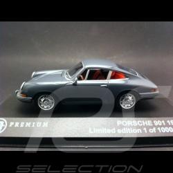 Porsche 901 1963 gris ardoise 1/43 Triple9 T9P10000