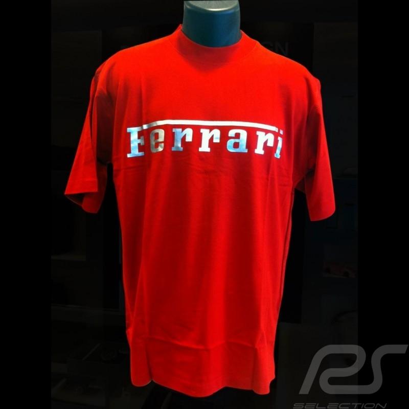 T-shirt Ferrari logo homme men herren
