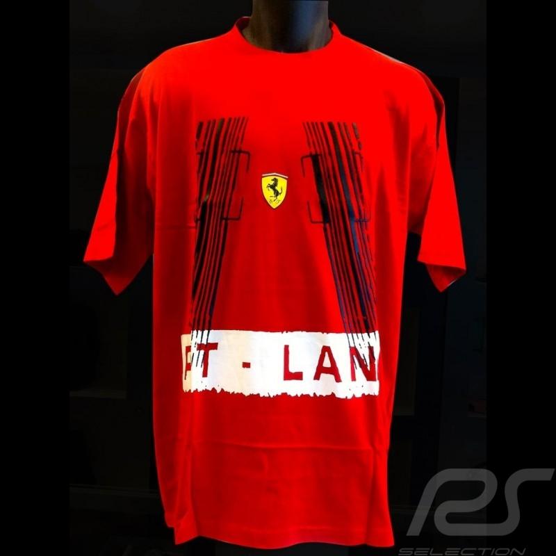 T-shirt Ferrari Pit lane red Men