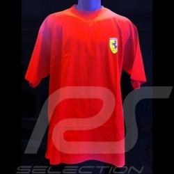 T-shirt Ferrari Ecusson Scuderia rouge homme