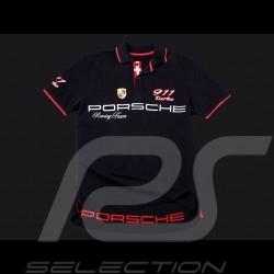 Polo Porsche  911 Turbo noir homme Porsche Design WAP670 Polo shirt men black schwarz  Herren