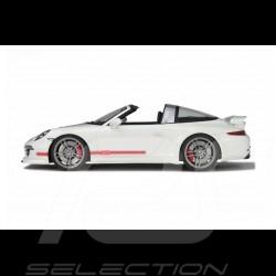 PRÉCOMMANDE Porsche 991 Targa Techart 2016 blanc / gris / rouge 1/18 GT Spirit GT108