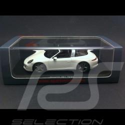 Porsche 991 Targa 4S 2015 white 1/43 Spark S4933