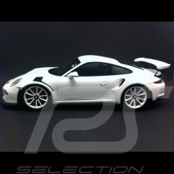 Porsche 991 GT3 RS 2015 blanche 1/18 Spark WAX02100018