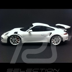 Porsche 991 GT3 RS 2015 white 1/18 Spark WAX02100018