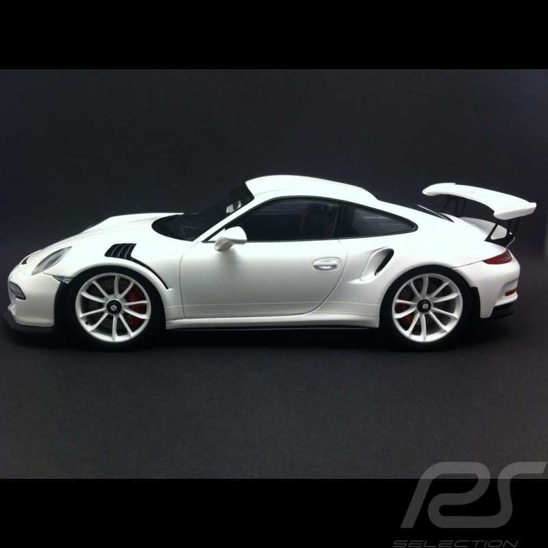 Porsche 991 GT3 RS 2015 white 1/18 Spark WAX02100018