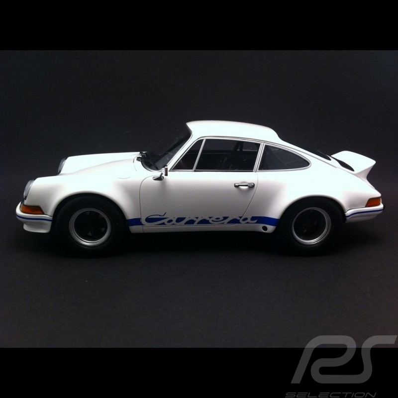 Porsche 911 2.8 Carrera RSR 1973 white / blue1/18 Minichamps 107065020
