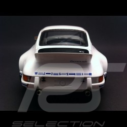 Porsche 911 2.8 Carrera RSR 1973 weiß / blau 1/18 Minichamps 107065020