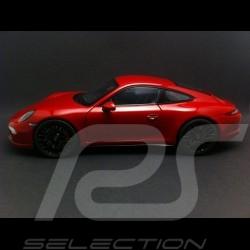 Porsche 911 type 991 Carrera GTS Coupé rouge carmin red karminrot 1/18 Schuco 450039000
