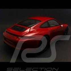 Porsche 911 type 991 Carrera GTS Coupé carmin red 1/18 Schuco 450039000