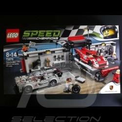 Porsche 917 K 1970 Porsche 919 Hybrid 2015 24 heures du Mans Lego 75976