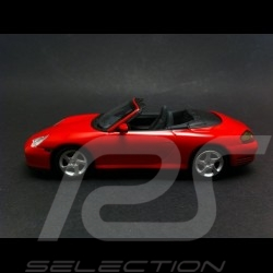 Porsche 996 Carrera 4S Cabriolet 2003 rouge 1/43 Minichamps MAP02036314