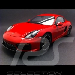 Vorbestellung Porsche Cayman GTS 2014 rot 1/18 GT SPIRIT GT112