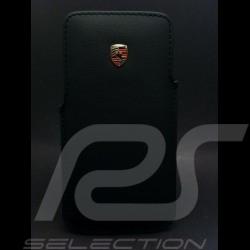 Porsche Housse i-phone 6 plus cuir écusson Porsche WAP0300210F