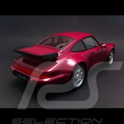 Porsche 964 Turbo 1990 fuchsia 1/24 Welly MAP02493616