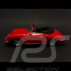 Porsche 356 B Cabriolet 1960 red 1/43 Minichamps 400064331