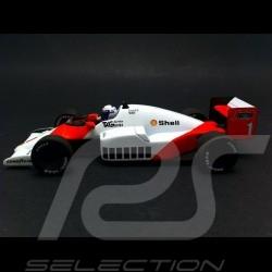 Mc Laren Tag Porsche MP4 2C Alain Prost Champion du Monde 1986 1/43 Minichamps 436860001