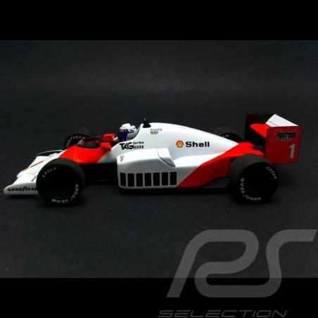 Mc Laren Tag Porsche MP4 2C Alain Prost World Champion 1986 1/43 Minichamps 436860001