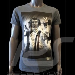 T-shirt Steve McQueen The man Le Mans navy blue - Men
