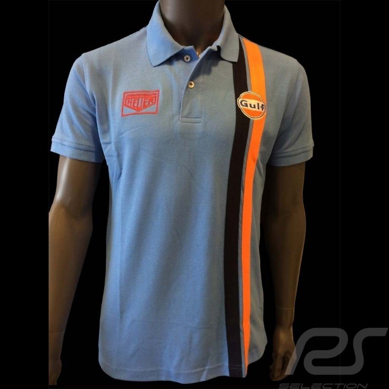 Polo Gulf Stripe blue - men